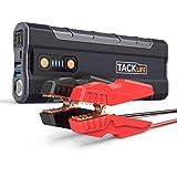 TACKLIFE T8 MAX Auto Starthilfe - 1000A Spitze 20000mAh Jump Starter, 12V Tragbare Autobatterie Anlasser (Alle Benzin, bis zu 6,5l Diesel), Auto Starter mit LED Taschenlampe, Schnellladen, Aufbewahrungsbehälter
