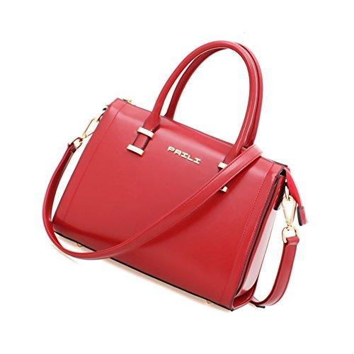 Spalla di Ladies laptop Messenger bag/Donna semplice in Europa e America-A A