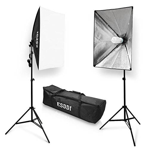 ESDDI Softbox Studio Set Fotografico Portatile, 700W...