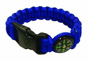 UST Para 550 Compass Bracelet, Blue