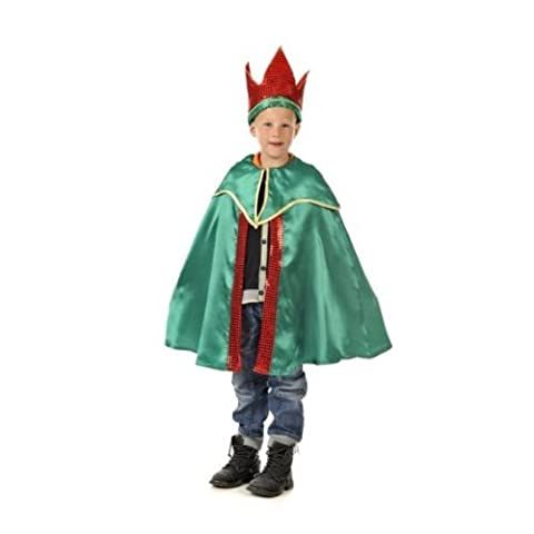 King Balthazar (Green) - Kids Costume 5 - 7 years