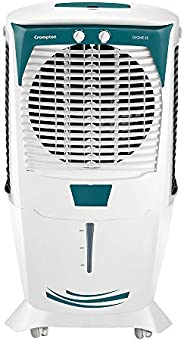 Crompton Ozone 55-Litre Inverter Compatible Desert Air Cooler with Honeycomb Pads for Home and Commercial (Whi