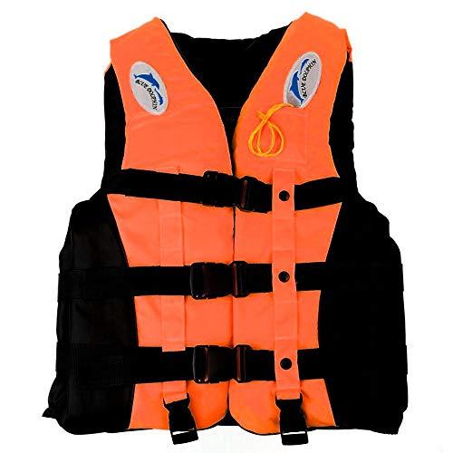 Schwimmweste Vest Outdoor Drifting Schnorcheln Angeln Unisex-Erwachsene Aufblasbare Jacke Wassersport Tauchen Bootfahren Kayaking (XL)
