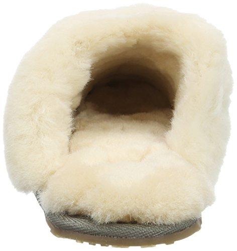 Lazy Dogz - Gracie, Pantofole Donna Grey (Herringbone)