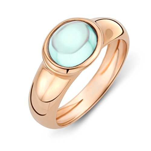 miore-ladies-9-ct-rose-gold-peridot-oval-cut-bezel-ring-size-q