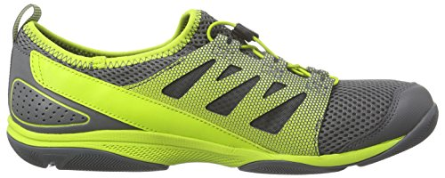 Helly Hansen Aquapace 2 Chaussures de pont Gris (800 Mid Grey / Charcoal / Lime)