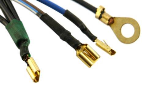 Kabelbaum SERIE PRO für Umrüstung auf E-Zündung für Vespa Smallframe/Largeframe, mit Blinker, ECO-Qualität