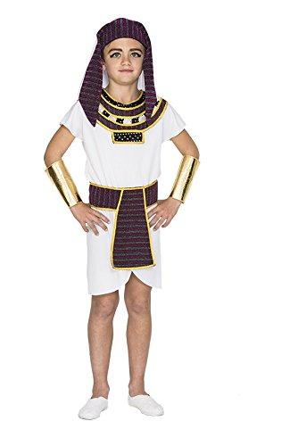 Enter-Deal-Berlin KINDERKOSTÜM - ÄGYPTER - Größe 130-140 cm, Antike Pharao Pyramiden Herscher altes Rom ()