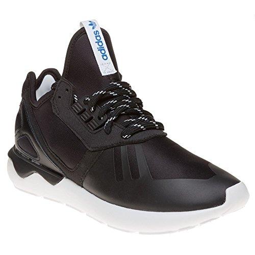 adidas Tubular Runner - Zapatillas para hombre, color negro / blanco,
