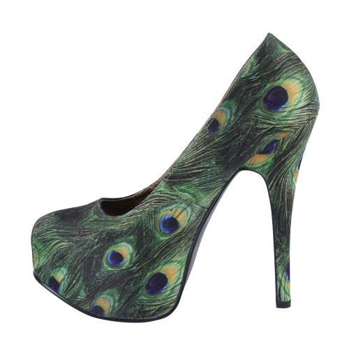 Bordello TEEZE-06-5 TEE06-5/GNMP (Green Multi Peacock Fabric)