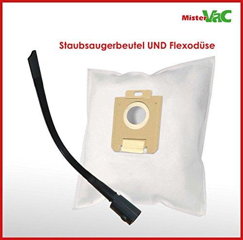 10x Staubsaugerbeutel + Flexdüse geeignet Philips FC 9197/91 PerformerPro ECO