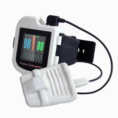 Pulsoximeter PULOX PO-500 Armband mit externem Sensor zur Langzeitessung von Sauerstoffsättigung und Puls