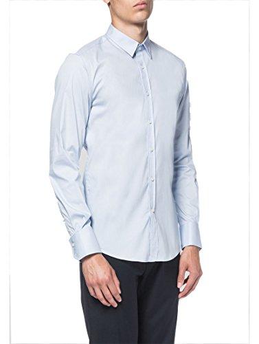 Antony Morato Herren Langarmhemd Business-Hemd Grey