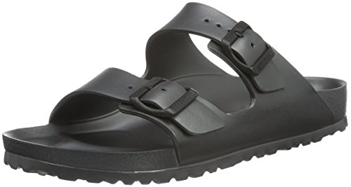 Birkenstock Arizona Eva, Sabots Mixte Adulte Gris (metallic Anthracite)