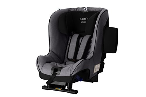 Axkid Minikid 2.0 Kindersitz Reboarder 0-25KG Ohne Isofix Inkl. Sitzverkleinerer Seitenaufprallschutz (red)