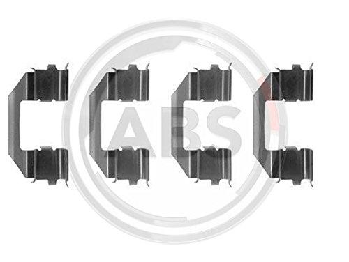 ABS 1258Q Kit di Pastiglie per freno a disco