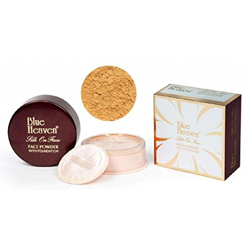 Blue Heaven Silk On Face Face Powder With Foundation 40 GMs (NATURAL)