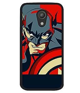printtech Superhero Avengers Shield Back Case Cover for Motorola Moto G2 X1068 , Motorola Moto G (2nd Gen)