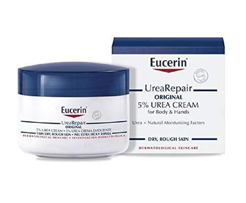 Eucerin Dry Skin Replenishing Cream with 5{41d6453a82dcfc38988c7ebe4946a921de47bd7a2f834dbee7cb527faf56d0c5} Urea 75ml