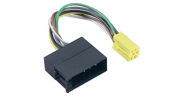 Line Out Adapter Mini Iso Auf Iso 10 Pol Elektronik