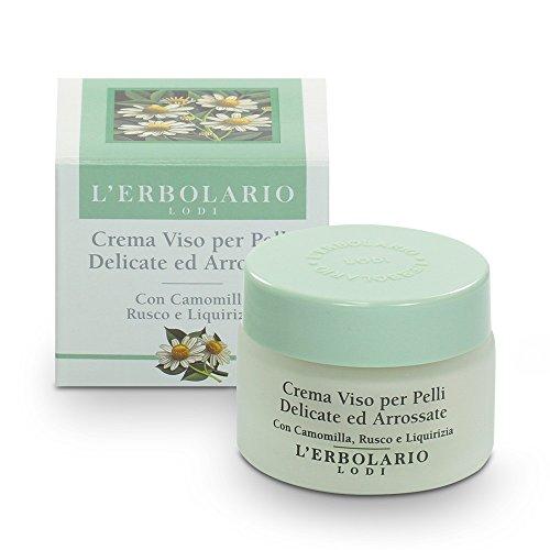 L'Erbolario Creme empfindliche Haut- Kamille, Stachelmyrte und Süßholz, 1er Pack (1 x 30 ml)