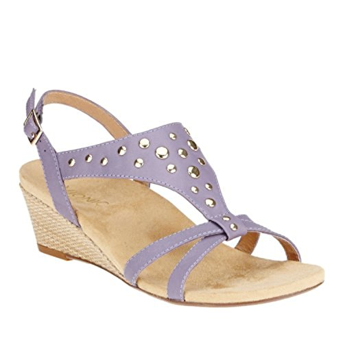 Orthaheel Vionic By Orthaheel Women's Catarina Sandals (5 B(M) Us, Lavender)
