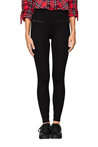 ESPRIT Damen Leggings 097EE1B034, Schwarz (Black 001), 38 (Herstellergröße: M)