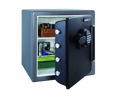 SentrySafe SFW123FSC Metálico - Caja fuerte (Cerradura con combinación,...