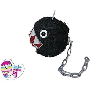 Chomp Piñata-Ketten. Ketten Chomp Piñata. Super Mario Piñata. 3D. 3D