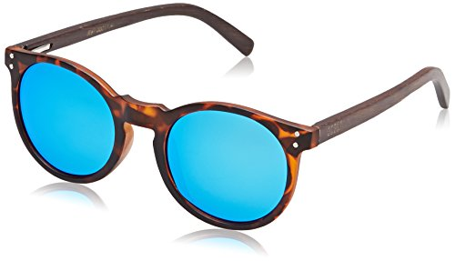 ocean-sunglasses-lizard-lunettes-de-soleil-demy-brown-frame-wood-dark-arms-revo-blue-lens
