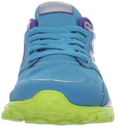 Skechers Go Run, Baskets mode fille Bleu (bllm)