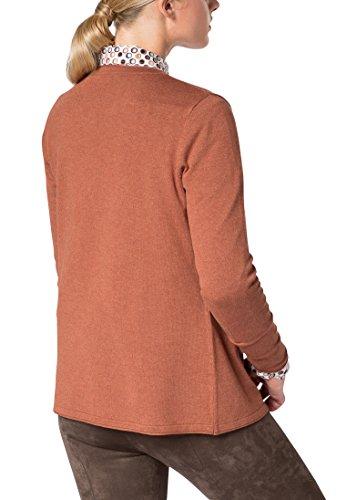 ETERNA Tricot tricot femmes uni orange/cognac