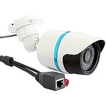 ELP 720P Mini nocturna de la cámara HD IP de la visión ONVIF 2.0 Cámaras de Vigilancia Exterior