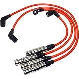 Juego de cables de bujía de encendido STD 57041 7558 09487 para VWS Beetle Golf Jetta