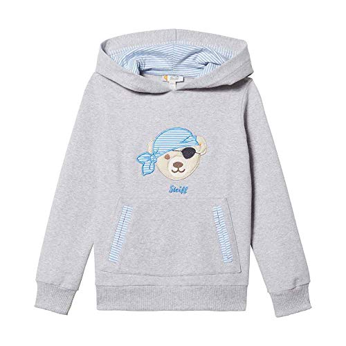 Steiff Sweatshirt Ju.Pirat Kapuze Größe: 080 Farbe: hellblau
