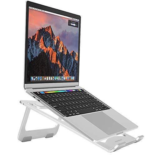 Preisvergleich Produktbild snaideal Lightweight Aluminium Portable Laptop Ständer für MacBook,  MacBook Pro,  Microsoft Surface Pro und mehr (Silber)
