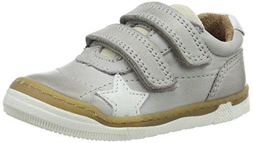 Bisgaard Unisex-Kinder Klettschuhe Low-Top Grau (400-1 Light grey)