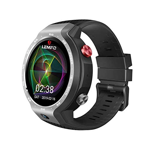 LEMFO LEM9 Smart Watch Dual Systems 4G Android 7.1 1.39 pollici 454454 Display fotocamera frontale 5 MP batteria 600 mAh