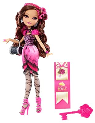Ever After High Briar - Muñeca de juguete con accesorios de Mattel