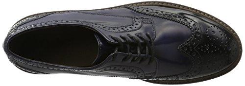 Gabor Shoes 51.451 Damen Brogue Schnürhalbschuhe Mehrfarbig (Schwarz/river 77)