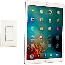 PadTab–Soporte 2: el original damage-free Kit de Sistema de Tablet ipad soporte de pared Dock Universal (Incluye Soportes para 2localizaciones) todos los iPads, Tablets, Smartphones