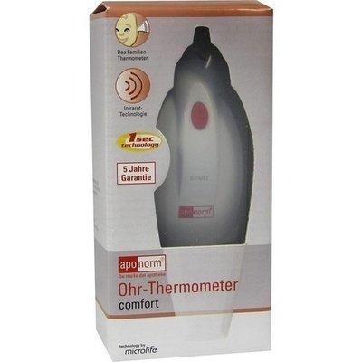 aponorm® Ohrthermometer mit Infrarot-Technologie und Abschaltautomatik