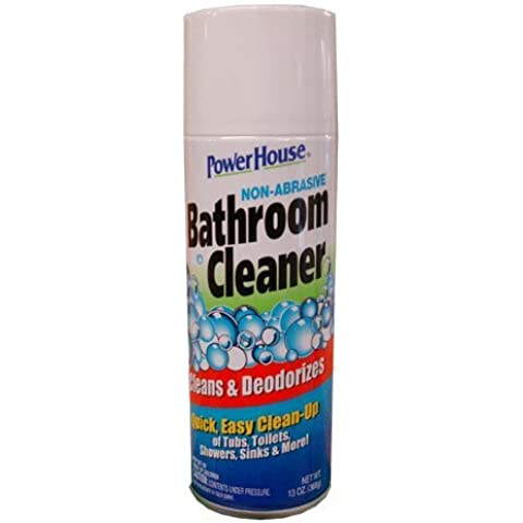 PowerHouse Non-Abrasive Bathroom Cleaner Cleans & Deodorizes Tubs Toilets Shower