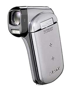 Sanyo VPC-CG21EX SD Camcorder High Definition (10 Megapixel, SD/SDHC Kartenslot, 35mm Weitwinkel, Full HD Video)