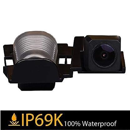 Farb-Rckfahrkamera-integriert-in-die-Nummernschildbeleuchtung-LED-Kennzeichenbeleuchtung-Kamera-mit-Distanzlinien-fr-Jeep-Wrangler-JKUJeep-JK-YJTJJK-J8-RubiconSaharaUnlimited-Sahara