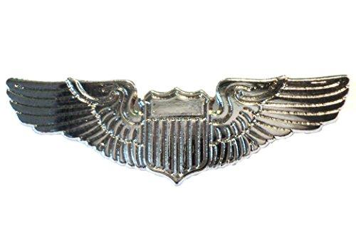 Pilot Wings Aircrew Captains Civil or Air Force Metal Badge