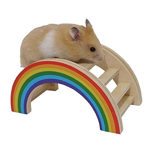 Hamster Russe - Rosewood Boredom Breaker Pont Arc En Ciel