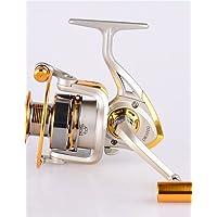 ZQ Metal Spinning Carretes 5.2: 111Rodamientos de bolas Exchangable mar pesca/Spinning/agua dulce fishing-fc3000
