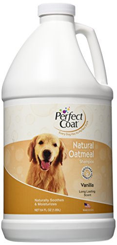 8 in 1 Pet Products DEOIP81707 Perfect Coat Nat-rliche Oatmeal Shampoo Franz-sisch Vanilla (Shampoo 1 8in)
