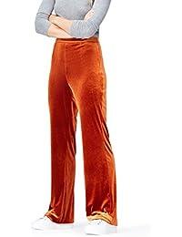 FIND Pantalon Velours Femme